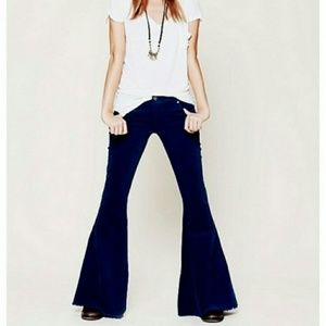 Free People Corduroy Bell Bottoms